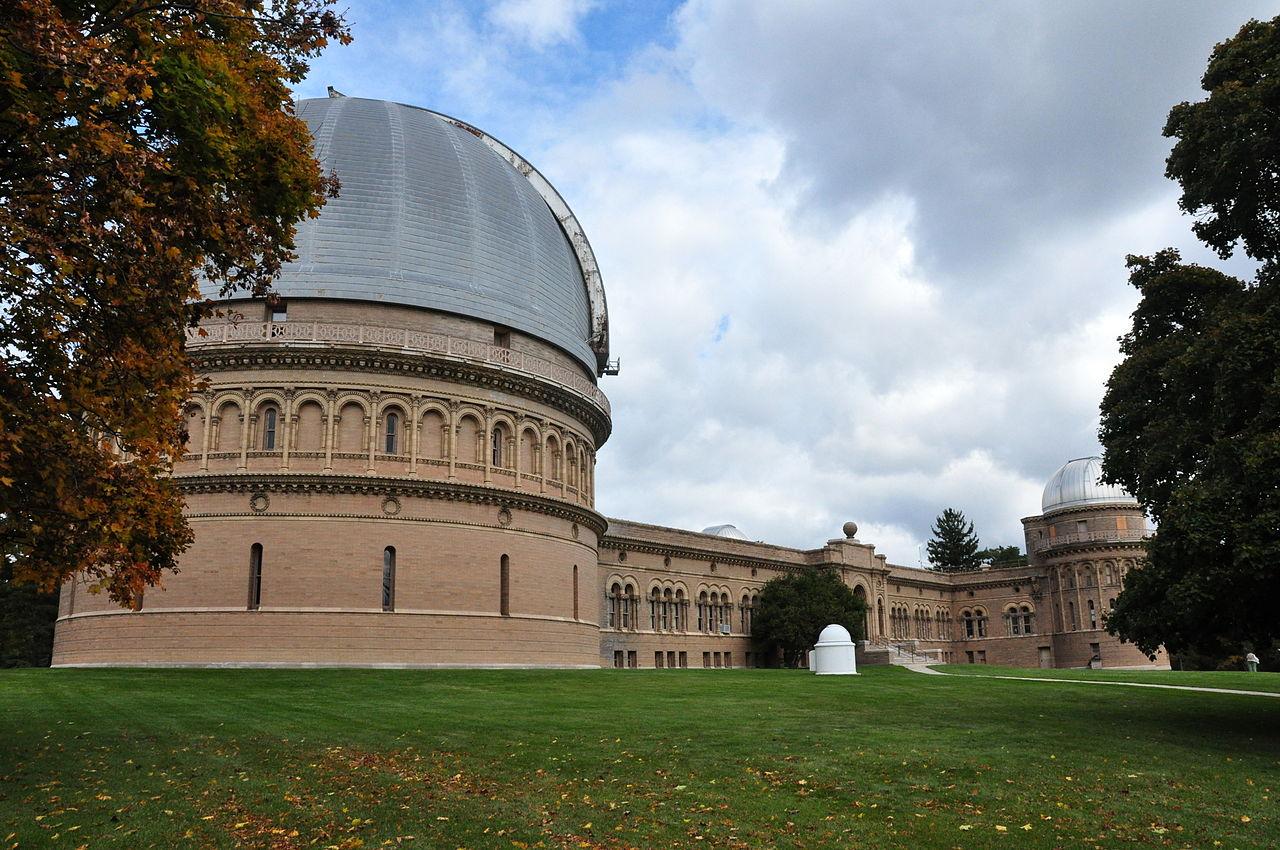 Yerkes Observatory in Chicago